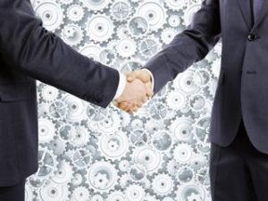 強力企業との提携